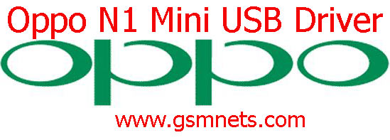 Oppo N1 Mini USB Driver Download