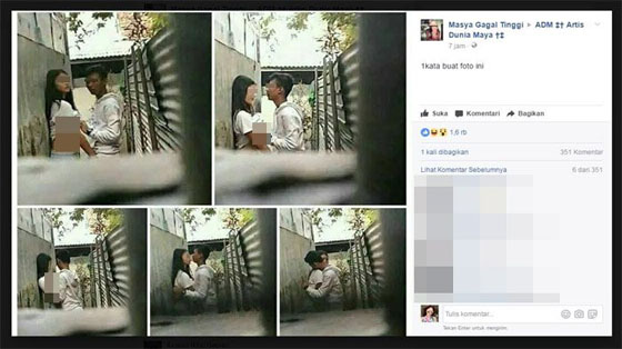 Foto HOT! ABG Ini Nekat Mesum di Siang Bolong Dan di Gang Sempit