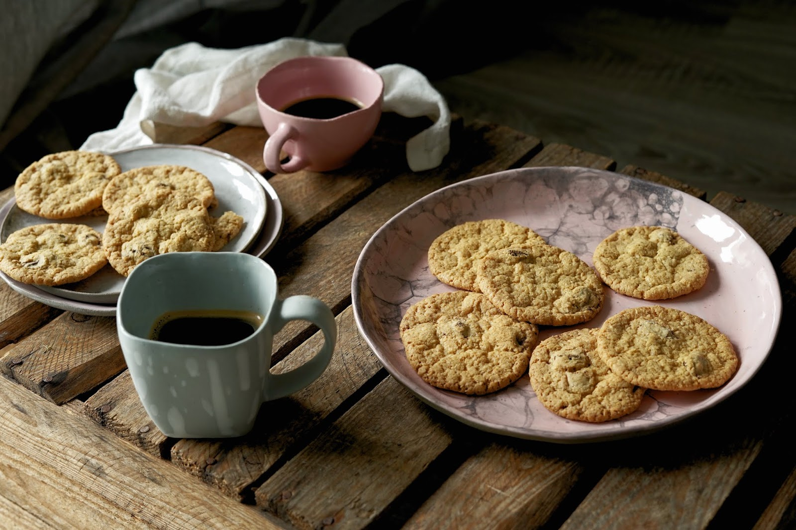 Bezglutenowe chocolate chip cookies