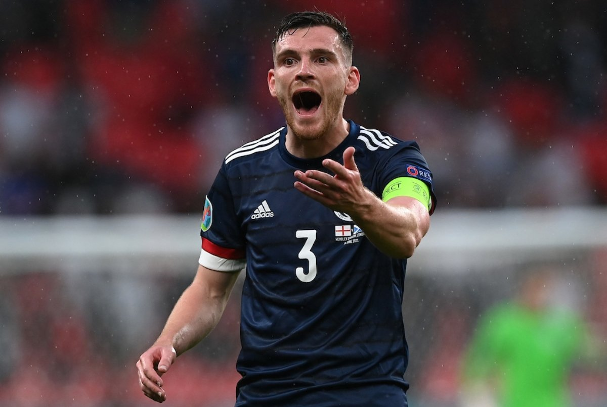 Scottish captain Andy Robertson