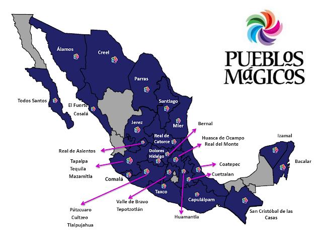 Los Pueblos Mágicos de México