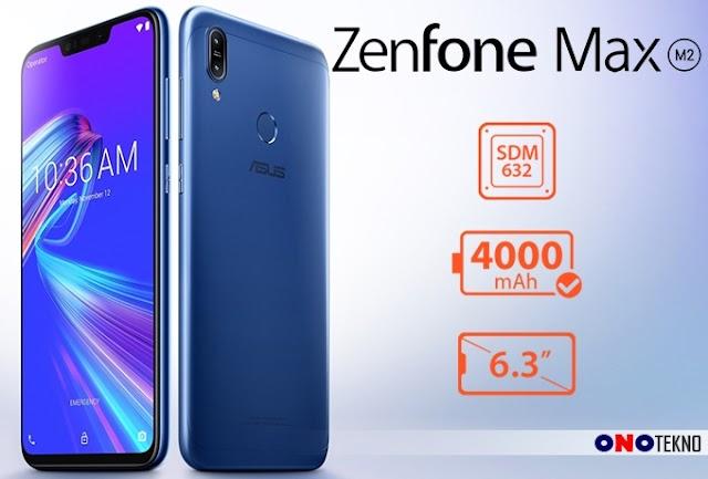 """ASUS ZenFone Max M2 """" Pertama Kali Pakai CPU Snapdragon 632 """""""