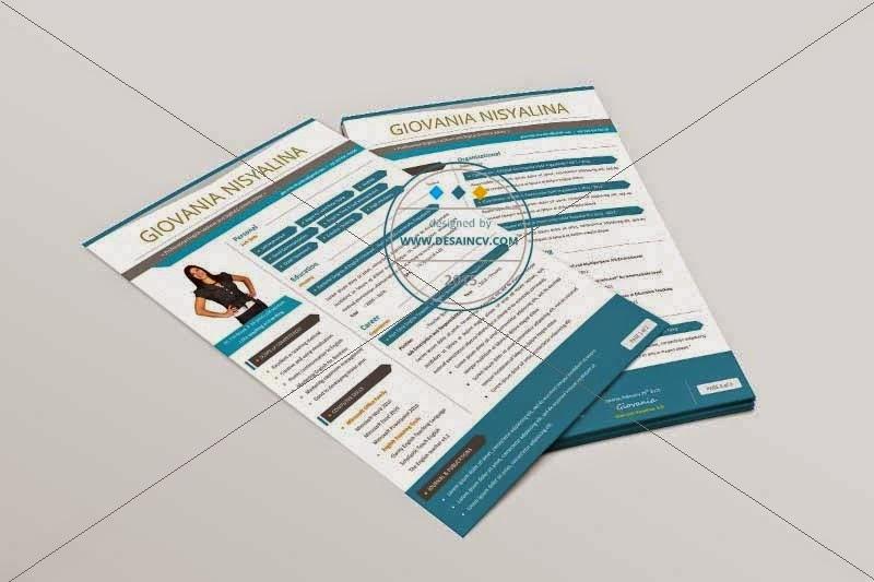 CV Lamaran Kerja Menarik dan Profesional