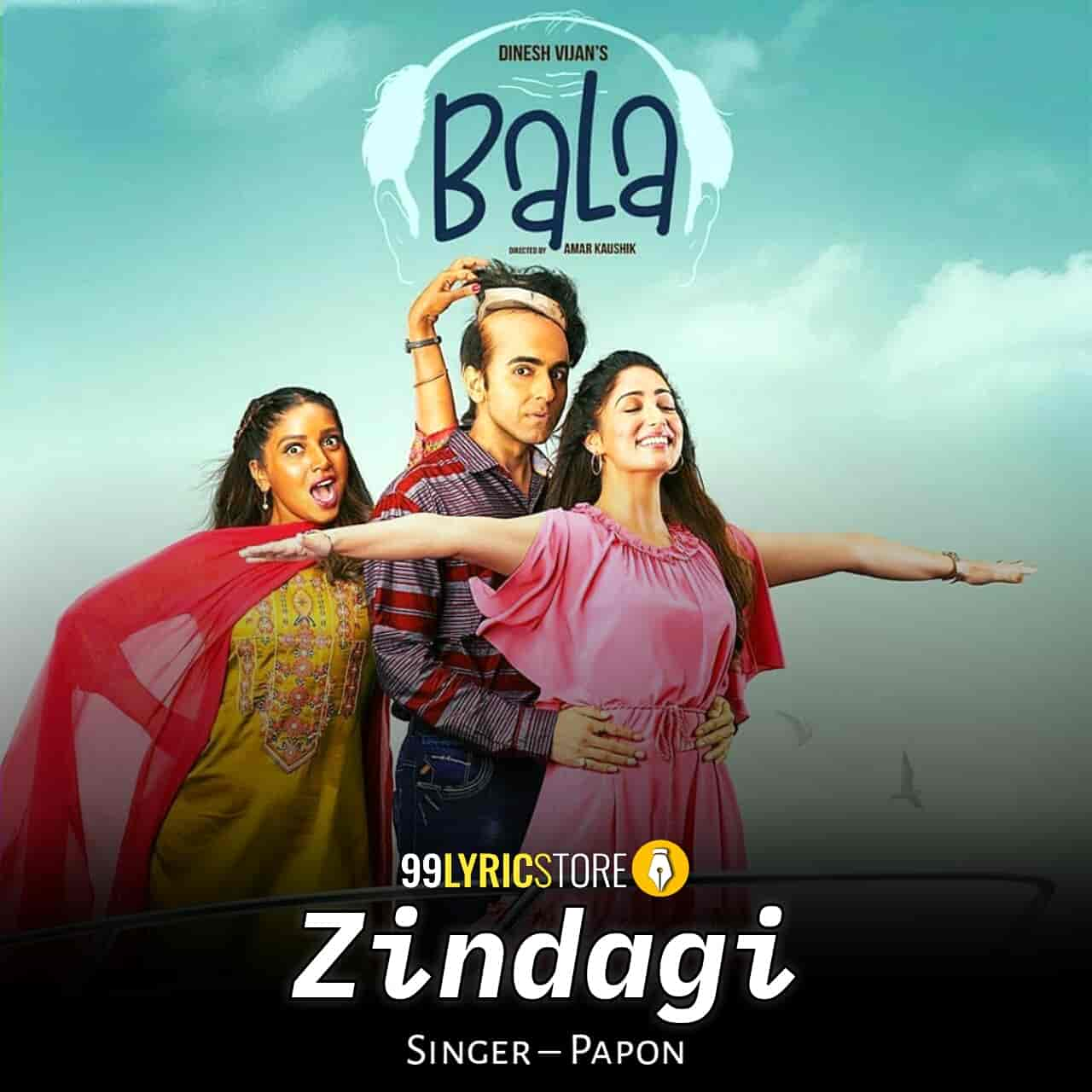 Zindagi Bala Movie Song Images sung by Papon