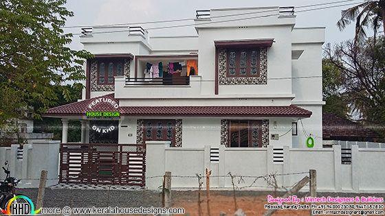 House constructed at Palakkad, Kerala