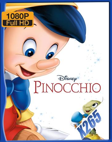 Pinocchio [1940] [Latino] [1080P] [X265] [10Bits][ChrisHD]