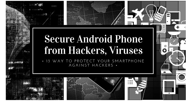 How To Secure Android Phone From Hackers | Viruses