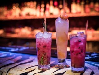 Shaka Zulu cocktails