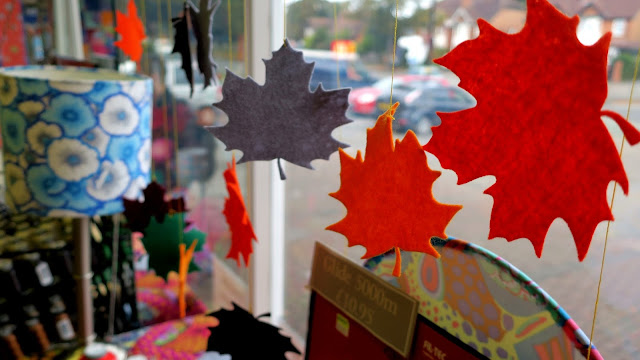 Cotton Patch Autumn Window Display