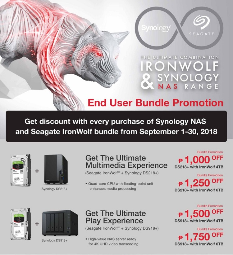 Seagate, Synology Launch IronWolf Health Management for DiskStation Manager