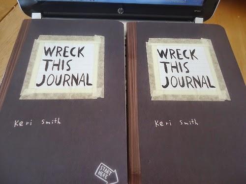 Wreck This Journal Art Supplies