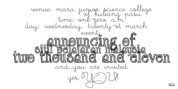 result spm 2011