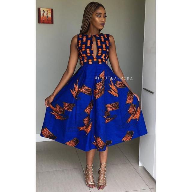 2019 Beautiful Trendy Ankara Styles