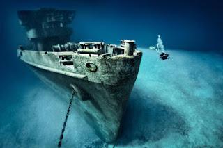 naufrágio, náufragos, maior tempo em alto mar