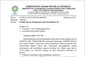 Prosedur Pembayaran dan Pendaftaran Uji Pengetahuan (UP) PPG Kemenag RI Firstaker dan Retaker