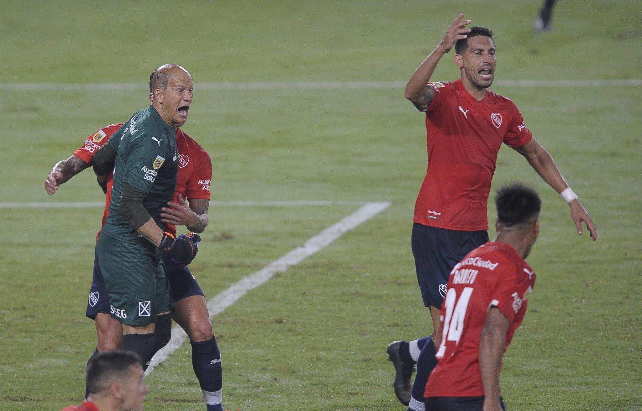 Independiente y Boca igualaron en Avellaneda