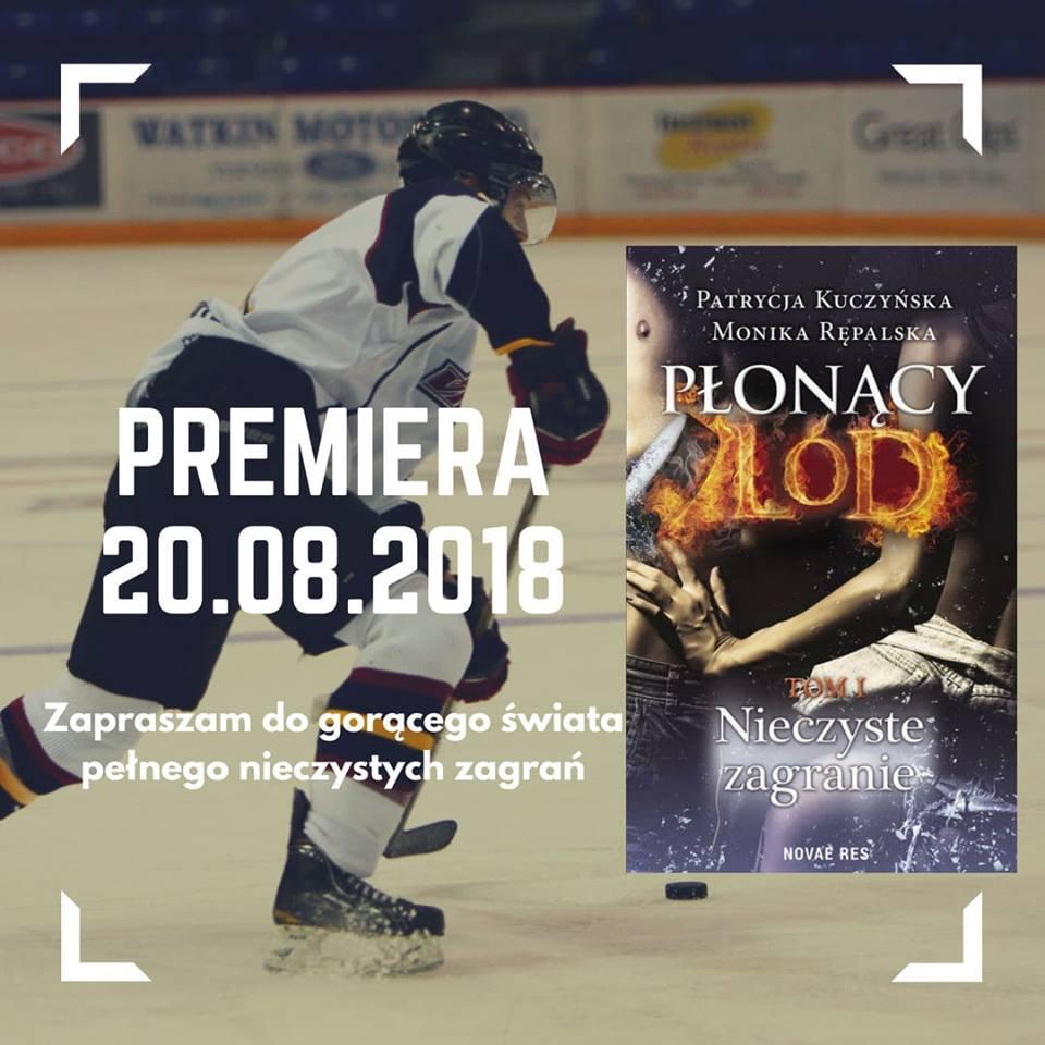 Partycja Kuczyńska, Monika Rępalska - Płonący Lód - Wydawnictwo Novae Res - Zapowiedź