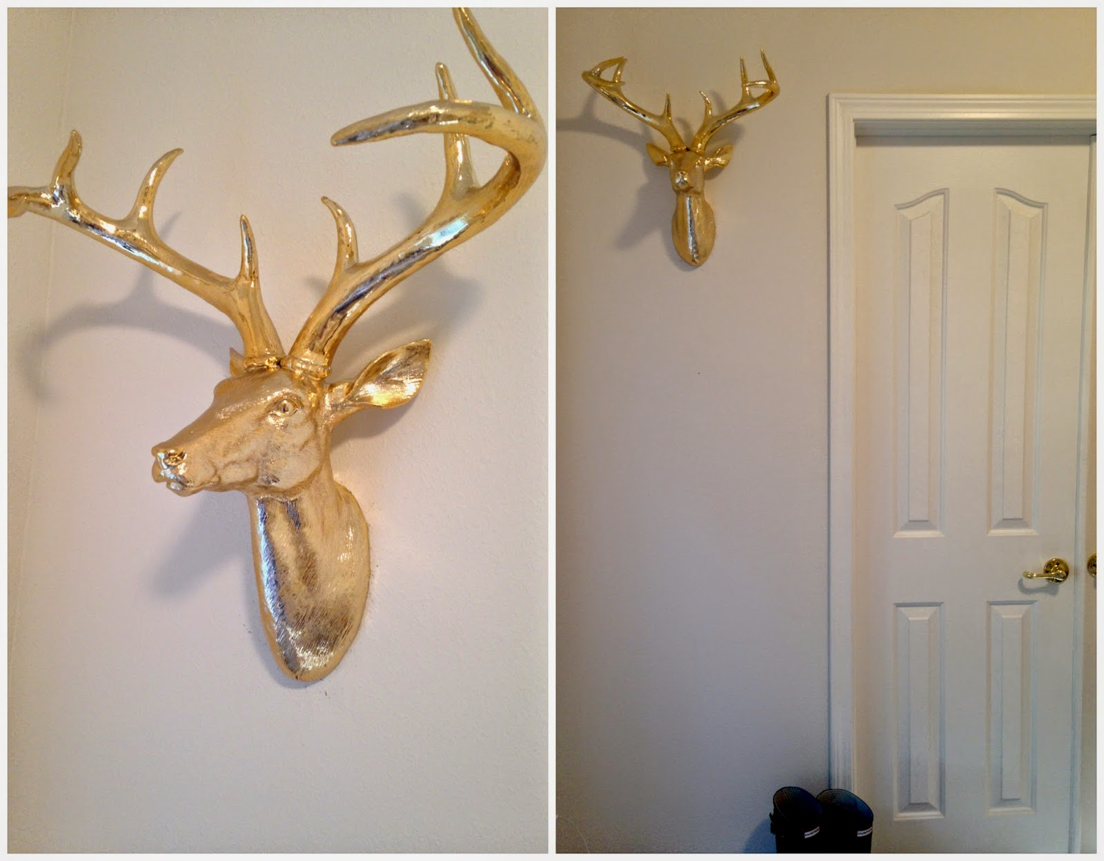 decorate office gold faux taxidermy z gallerie