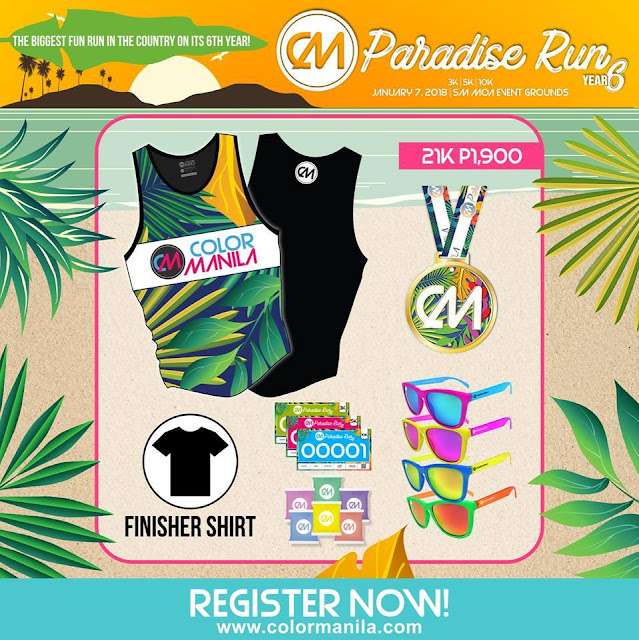 Mark your calendars for the CM Paradise Run!