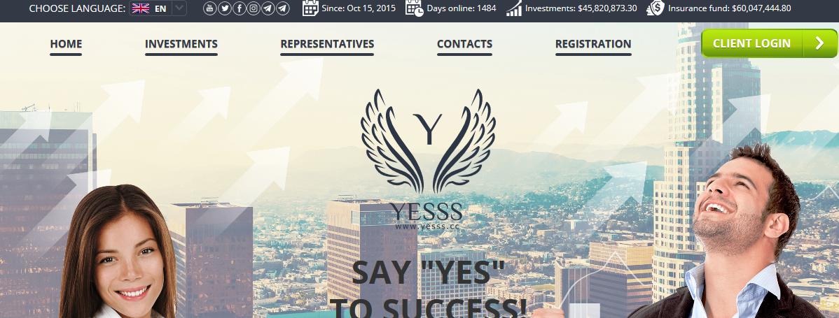 Мошеннический сайт yesss.cc – Отзывы, развод, платит или лохотрон?