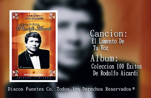 El Lamento De Tu Voz | Rodolfo Aicardi Lyrics
