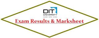 DIT University Results 2020