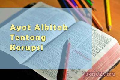 ayat alkitab tentang korupsi