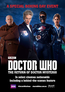 doctor who return of doctor Mysterio Australia cinema