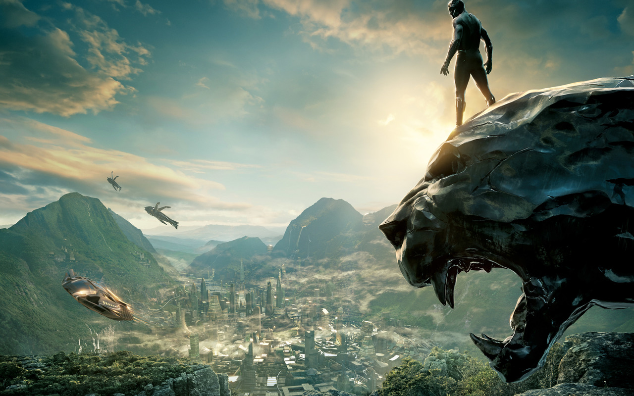Black Panther Wakanda architektura