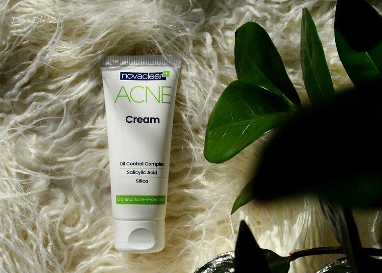 NovaClear ACNE Cream Matujący krem do twarzy recenzja