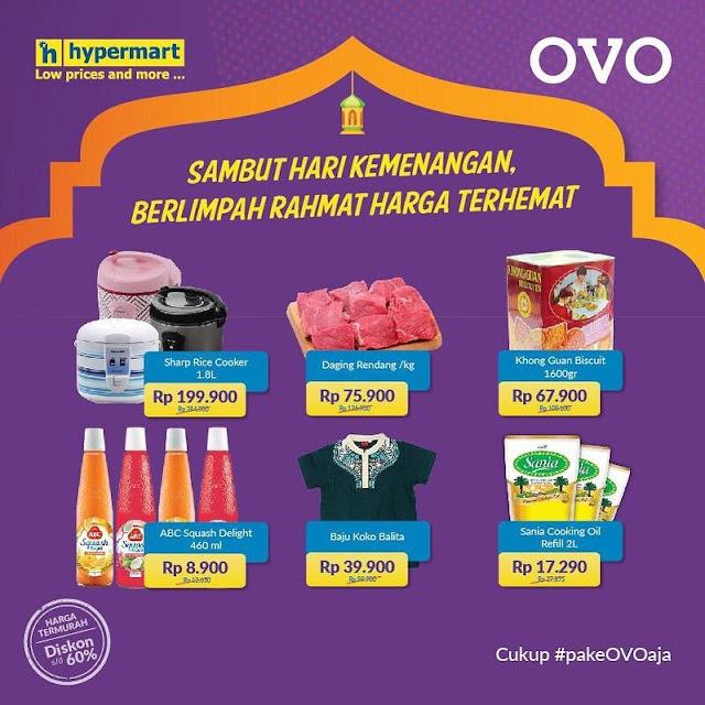#OVO - #Promo Sambut Kemenangan di Hypermart Dapatkan Harga Spesial (s.d HARI INI)