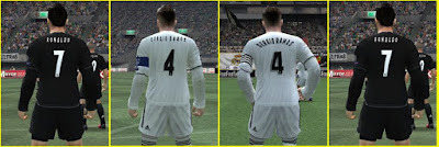 PES 6 Fonts Real Madrid Season 2018/2019 by Bùi Hiếu