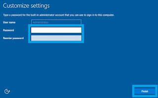 Install Windows Server - Customize Settings