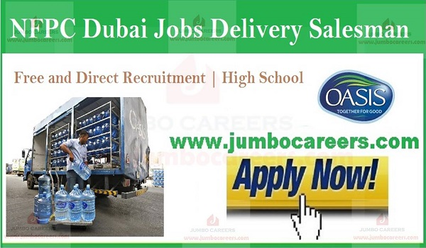 Salesman Vacancies In Gulf countries, Available vacancies in UAE,
