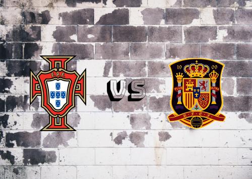 Portugal vs España  Resumen y Partido Completo