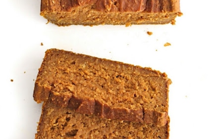 Healthy Flourless Pumpkin Bread