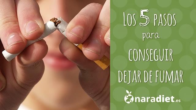 Los 5 pasos para conseguir dejar de fumar
