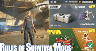 Rules of Survival Apk Mod Cheats, Aimbots, Wallhacks v1.150917.151559