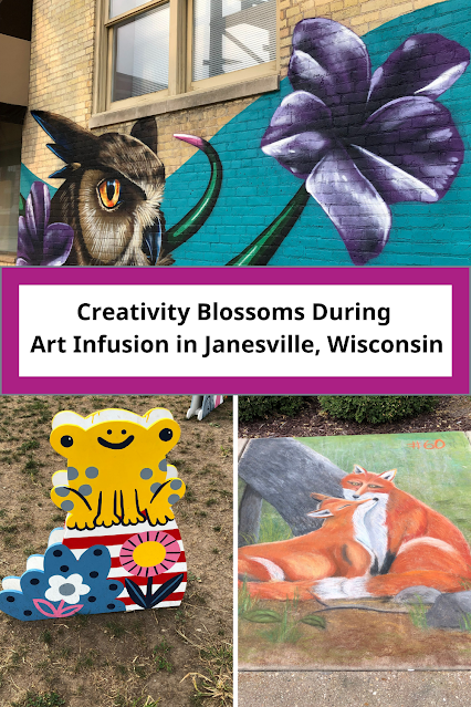 Creativity Blossoms During  Janesville, Wisconsin's Art Infusion