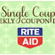Rite Aid Weekly Coupon Match Ups 5/8 - 5/14