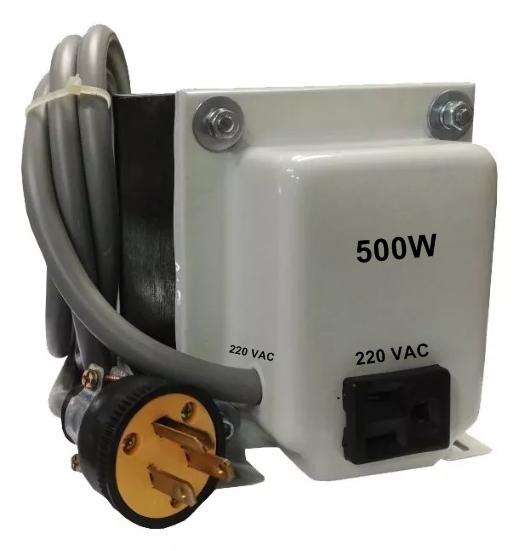 Transformador monofásico 220vac - 220vac 500w