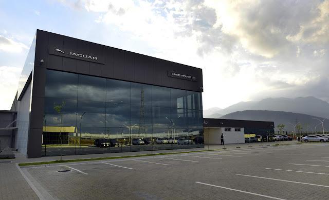 Jaguar Land Rover: fábrica em Itatiaia (RJ)