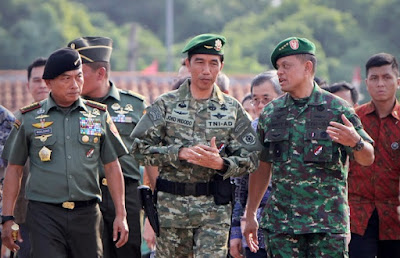 Jenderal Gatot sebelum diangkat menjadi Panglima TNI (Dok Antara)
