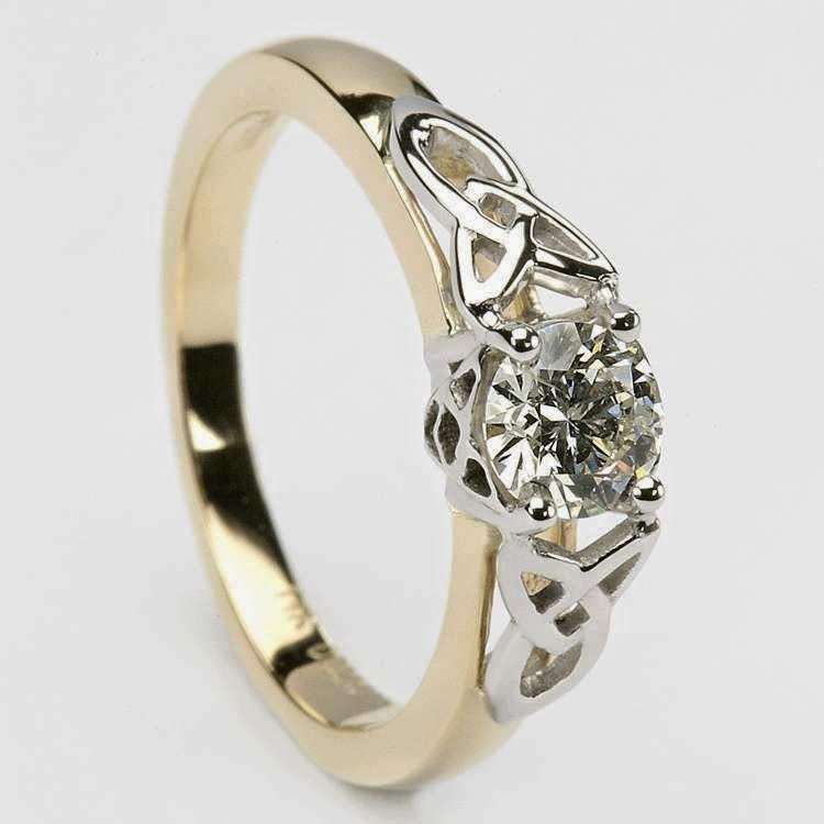 celtic wedding rings soulmate