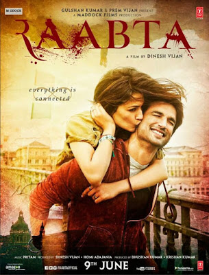 Raabta 2017 Hindi 720p HDRip 700mb HEVC x265
