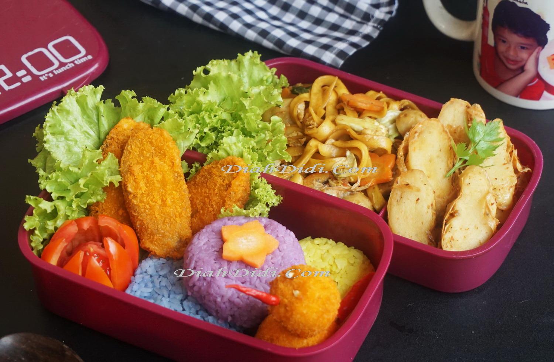 Diah Didis Kitchen Tips Menyiapkan Bekal Menarik Untuk Anak Anak