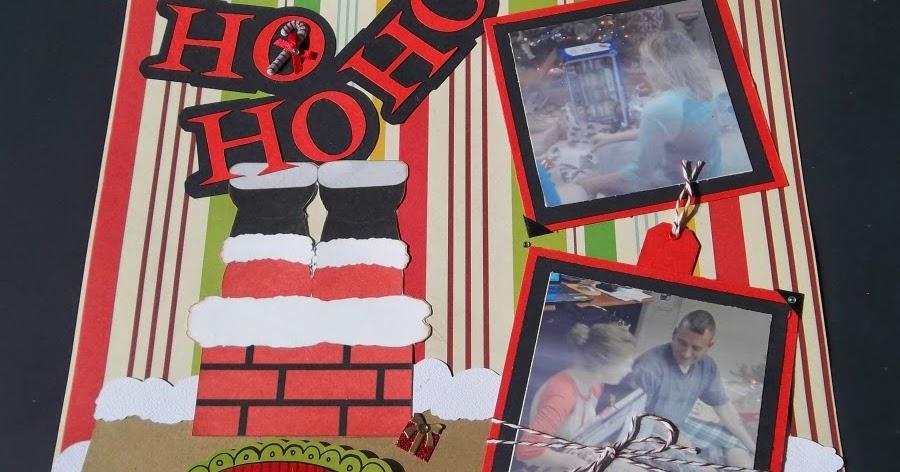 Granny Ma S Creations Ho Ho Ho Layout A Christmas Layout