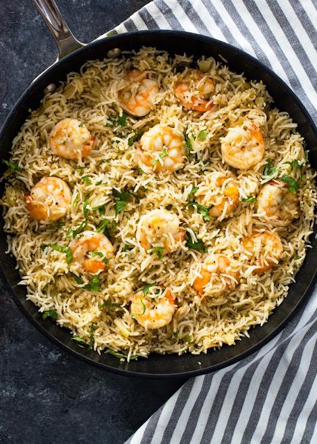 Garlic Shrimp and Rice - 2