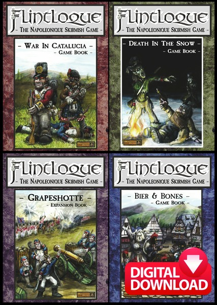 Alternative Armies: Flintloque Books now digital downloads and all
