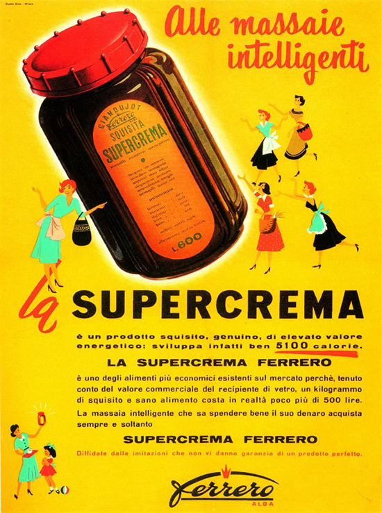 Supercrema advertising 1950s